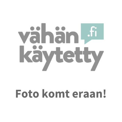 Grijs krijt-gestreepte tricot shirt met staande kraag - ANDER MERK - Maat XXXL